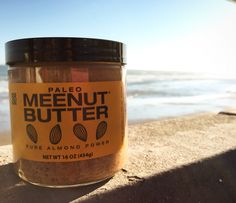 Pure Almond Power.  You can now stock up at downtown Ventura's farmers market on Saturday mornings! ✌️#meenutbutter #meenutmondays #whole30 #nongmo #surfergirl #beach #farmersmarket