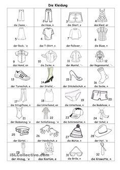 Kleider Bildlexikon