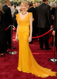 15 Long Elegant Red Carpet Dresses From Oscars Gone By