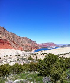 Flaming gorge from hwy 44