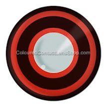Bullseye Coloured Contact Lenses