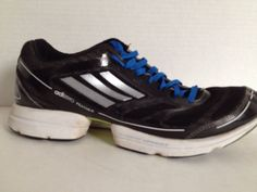 buy popular 50f1b 757c4 Adidas Adizero Feather Sneakers Mens Size 8.5 M Shoes 8 12 Sprint Frame  Black