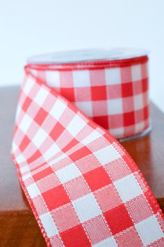 2 1/2 Gingham Ribbon by the yard check by TheBlaithinBlairShop