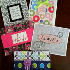"""Handmade Greeting Cards from  the """"outta-my-mind"""" collection by Jennifer! Designs, Ltd. in Lexington, OH.    www.jenniferdesigns.bigcartel.com"""