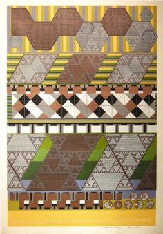 Eduardo Paolozzi - Universal Electronic Vacuum / Computer Epoch - 1967 Graphic Patterns, Geometric Patterns, Eduardo Paolozzi, Epoch, Pattern Fashion, Pattern Design, Pop Art, Contemporary, Modern