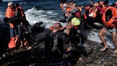 WHY WE DON´T INSTALL REGULAR FERRY SERVICE TO TAKE REFUGEES ABOUT THE SEA SAFELY?WARUM FÜHRT MAN NICHT EINEN REGULÄREN FÄHRDIENST EIN, AUF DEM FLÜCHTLINGE SICHER ÜBERS MEER GEBRACHT WERDEN KÖNNEN?