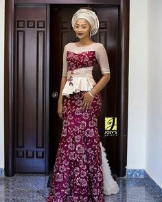 Fashionable, Stylish, and Exquisite Ankara Styles! Checkout How Fashionistas Are Rocking Their Amazing Pieces - Wedding Digest Naija African Lace Dresses, Latest African Fashion Dresses, African Dresses For Women, African Women, Ankara Fashion, Ankara Long Gown Styles, Lace Gown Styles, Ankara Styles, Blouse Styles