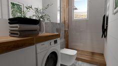 Praca konkursowa z wykorzystaniem mebli łazienkowych z kolekcji LOFTY #naszemeblenaszapasja #elitameble #meblełazienkowe #elita #meble #łazienka #łazienkaZElita2019 #konkurs Stacked Washer Dryer, Washer And Dryer, Lofty, Washing Machine, Laundry, Home Appliances, Design, Laundry Room, House Appliances