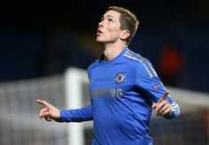 Fernando Torres Photos Photos - Fernando Torres of Chelsea celebrates scoring their third goal during the UEFA Europa League Round of 16 second leg match between Chelsea and FC Steaua Bucuresti at Stamford Bridge on March 14, 2013 in London, England. - Chelsea v FC Steaua Bucuresti