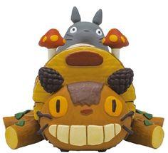 Amazon   スタジオジブリ となりのトトロ プルバックコレクション/トトロの手作りネコバス   アニメ・萌えグッズ 通販