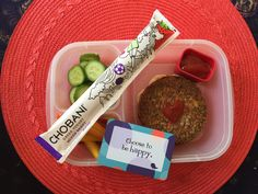 Chobani Mixed Berry Tubes are a great snack at lunch or anytime really because they're packed with 5g of protein compared to 2g in other leading kids' yogurts. Add some emotional nutrition too with Lunchbox Love for Kids :)