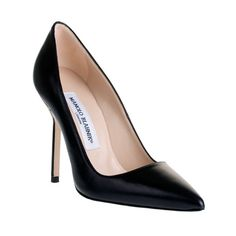 Manolo Blahnik BB Point-Toe Pumps media gallery on Coolspotters. See photos, videos, and links of Manolo Blahnik BB Point-Toe Pumps. Black High Heel Pumps, High Heels Stilettos, Pointed Toe Pumps, Dream Shoes, New Shoes, Morrison Shoes, Stiletto Shoes, Patent Leather Pumps, Manolo Blahnik