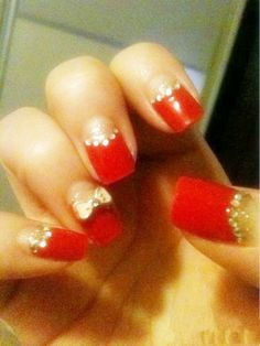 Reverse French nail