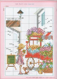 Gallery.ru / Фото #2 - 10 MOO S50-891 - Mila65 Cross Stitch House, Cross Stitch Tree, Cross Stitch For Kids, Cross Stitch Bookmarks, Cute Cross Stitch, Cross Stitch Flowers, Cross Stitch Designs, Cross Stitch Patterns, Cross Stitching
