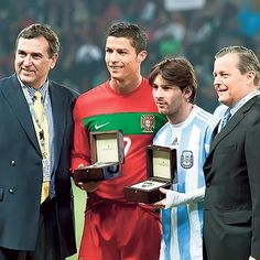 History Greatest Ever ❤ LM10 (Argentina) & CR7 (Portugal) #Messi #LM10 #Argentina #Cristiano #Ronaldo #CR7 #Portugal