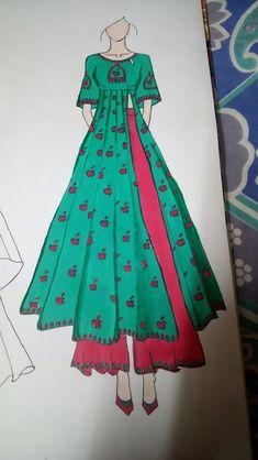 Dress Design Drawing, Dress Design Sketches, Dress Drawing, Fashion Design Drawings, Fashion Sketches, Arm Drawing, Dress Illustration, Fashion Illustration Dresses, Illustration Sketches