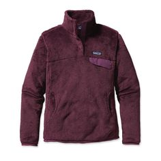 Patagonia Women's Re-Tool Snap-T® Fleece Pullover---these are soooo comfortable!!