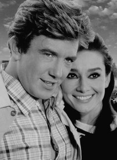 Audrey Hepburn & Albert Finney -Two for the road