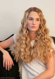 Beautiful curls #color #curls #hairstyle #ghd