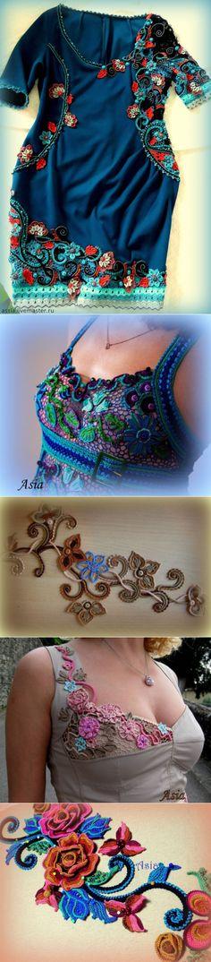 Восхитительное кружевное ирландское вязание (+МК) — Рукоделие