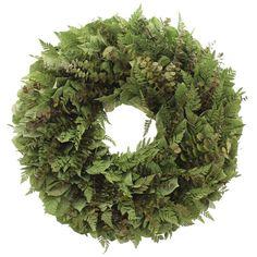 Schultz Natural Leaf Wreath