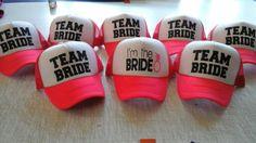 #caps #bachelorette #party #despedida #soltera #gorras #fosfo #teambride #imthebride