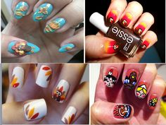 Thanksgiving Nails Ideas