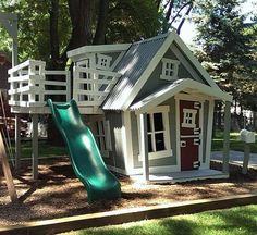 "46 Likes, 2 Comments - Imagine That! Playhouses (@imagine_that_playhouses) on Instagram: ""A sharp BIG Playhouse #Playhouses #backyard #kidsplayground #cuteplayhouse #theyreonlyyoungonce"""