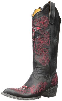 Gameday Women's Texas Tech Cowboy Boot Pointed Toe - Tt L010-2 -- Additional info  : Knee high boots