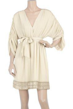 Alice + Olivia   Grecian pleated dress   NET-A-PORTER.COM