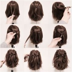 2 Minute Hairstyles 2Minute Low Braided Bunyeah I Am Thinking My Hair Will Not Do