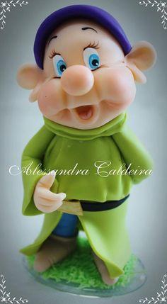 Dwarf-Snow White | Alessandro Caldeira | Gumpaste Figures