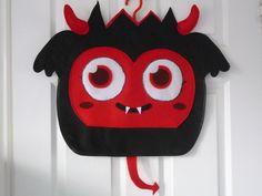 Diavolo Monster Costume for World Book Day Moshi devil handmade from felt £24.99
