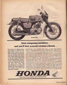 1963 Honda print advertisement. #honda #vintageadvertising