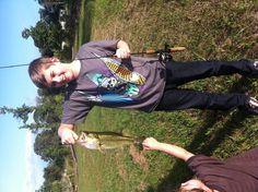 Pond bass fishing