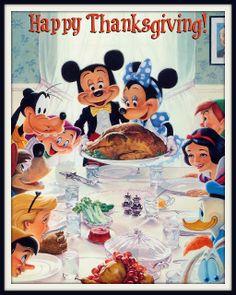 #Autumn #Thanksgiving ~ Disney
