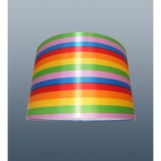 11'' Rainbow Cylinder Lamp Shade Table Ceiling Light Lampshade
