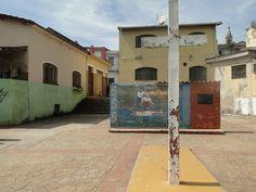 Por toda a pequena cidade de Pirapora, há referências religiosas