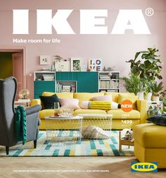 "The 2018 version of the IKEA catalog is coming soon. Themed ""Make room for life,"" this year's catalog highlights IKEA home furnishing solutions that enable people to make more room..."