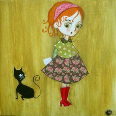 Mila & Jade painting So cute ! Love it !