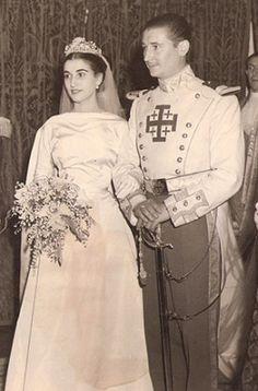 CRISTÓBAL MARTINEZ-BORDIU MARQUÉS DE VILLAVERDE & MARIA DEL CARMEN FRANCO Y POLO DUQUESA DE FRANCO  10 DE ABRIL DE 1950