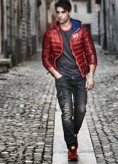 Armani Jeans Fall/Winter 2014: Una abrigadora colección para el invierno