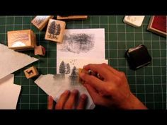 Stampscapes 101: Video 2.  Seamless Scenes and Altering Stamp Usage