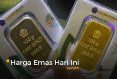 Harga Emas Hari Ini 26 Juli 2017 Rp 590.000 per gram