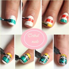 16 Creative DIY Nail Ideas