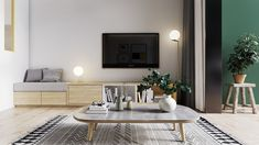 Yellow Accents In Scandinavian Style Interiors: 3 Examples That Show You How