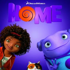 Home an amazing movie with an alien!!!