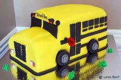 """Kindergarten....Here I Come!  """"Funfetti"""" Cake with Vanilla Buttercream Filling  Fondant Finish & Decoration"""