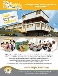 Colégio Universitário Alphaville - Anúncio Revista Viva S/A