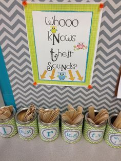 Articulation cans for therapy!! Repinned by SOS Inc. Resources pinterest.com/sostherapy/.